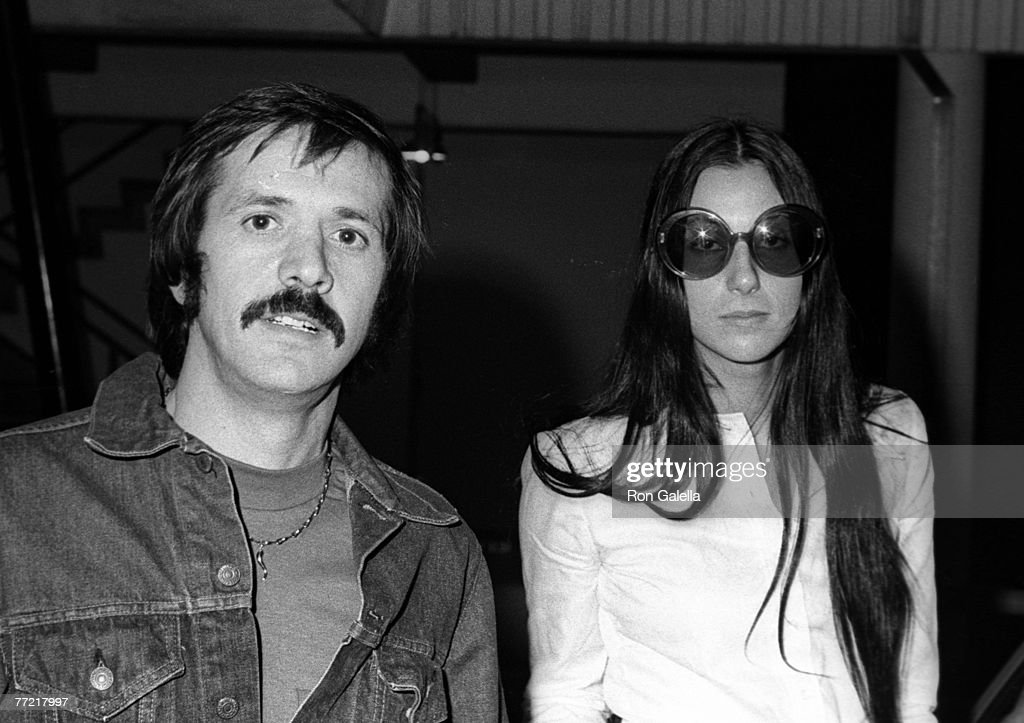 Singers Sonny Bono and Cher being photographed on January 1, 1972 at CBS TV Studios in Beverly Hills, California.