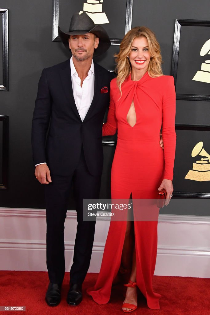singers-tim-mcgraw-and-faith-hill-attend-the-59th-grammy-awards-at-picture-id634972390
