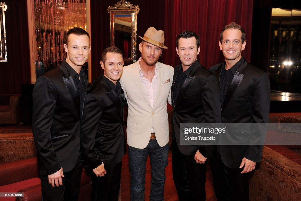 Singer/song writer Matt Goss and musical group Human Nature arrive at a screening of Universal Pictures' 'Get Him to the Greek' at the Planet...