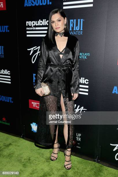 Singersongriter Jessie J at a celebration of music with Republic Records in partnership with Absolut and Pryma at Catch LA on February 12 2017 in...