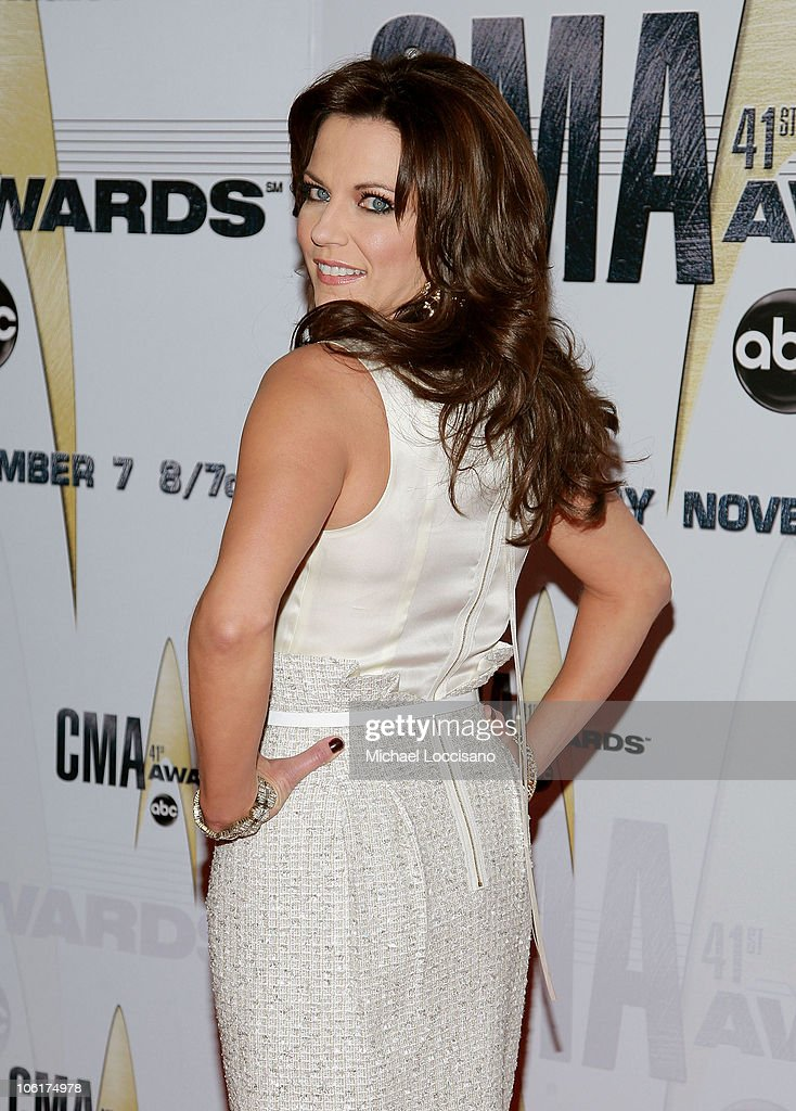 Singer/Songrwriter Martina McBride arrives at the 41st Annual CMA Awards at the Sommet Center on November 7 2007 in Nashville TN
