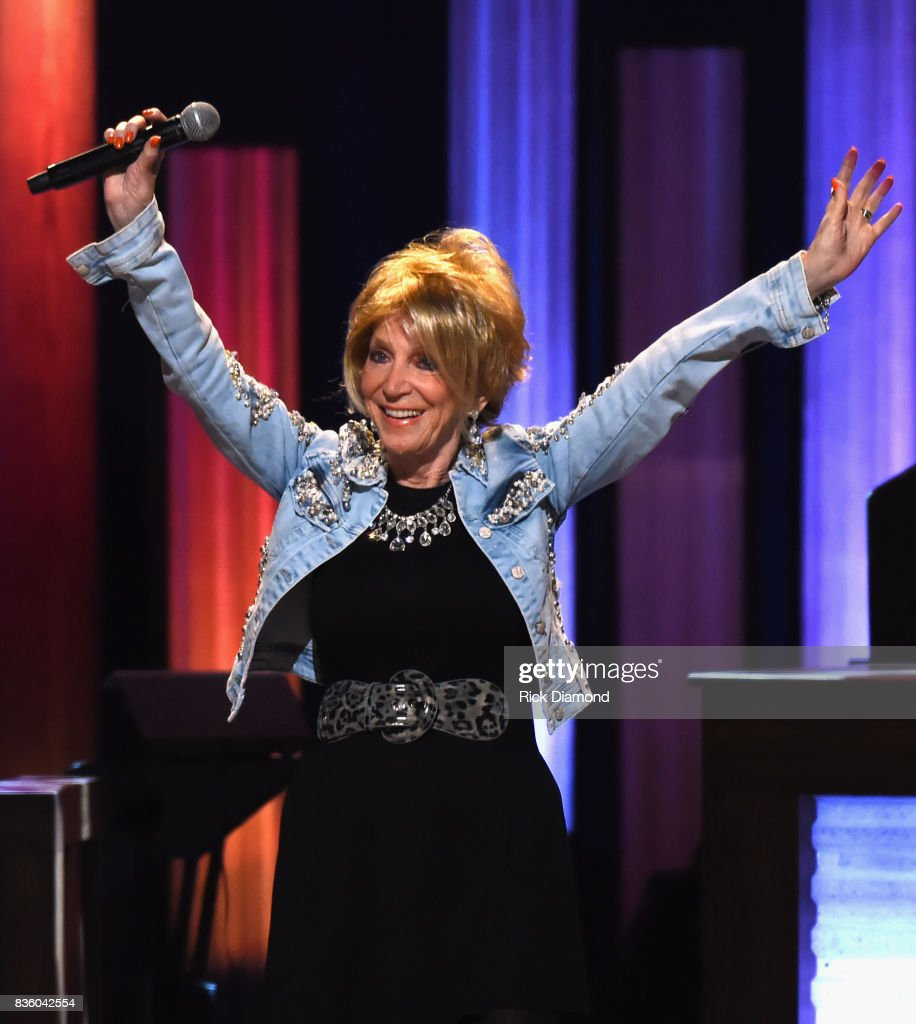 Singer/Songwriter & 50 year member of The Opry Jeannie Seely performs during Grand Ole Opry Total Eclipse 2017 Special Sunday Night Show at Grand Ole Opry House on August 20, 2017 in Nashville, Tennessee.