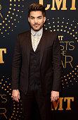 Singersongwriter Adam Lambert attends the 2015 'CMT Artists of the Year' at Schermerhorn Symphony Center on December 2 2015 in Nashville Tennessee
