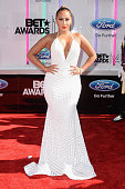 Singersongwriter Adrienne Bailon attends the BET AWARDS '14 at Nokia Theatre LA LIVE on June 29 2014 in Los Angeles California