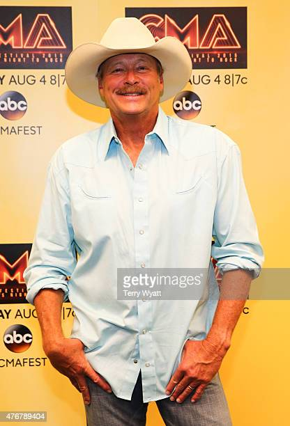 Singersongwriter Alan Jackson speaks at a preshow press confrence at the 2015 CMA Festival on June 11 2015 in Nashville Tennessee