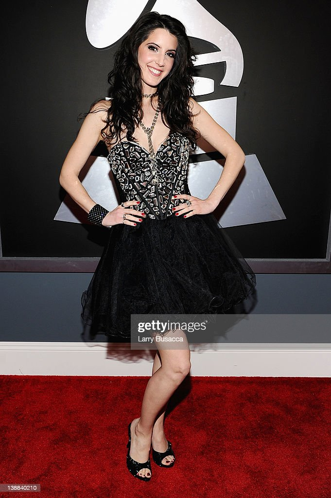 Singer/songwriter Alana Grace arrives at the 54th Annual GRAMMY Awards held at Staples Center on February 12, 2012 in Los Angeles, California.