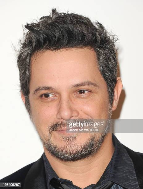 Singer/songwriter Alejandro Sanz arrives at the 2012 Latin Recording Academy Person Of The Year honoring Caetano Veloso at the MGM Grand Garden Arena...