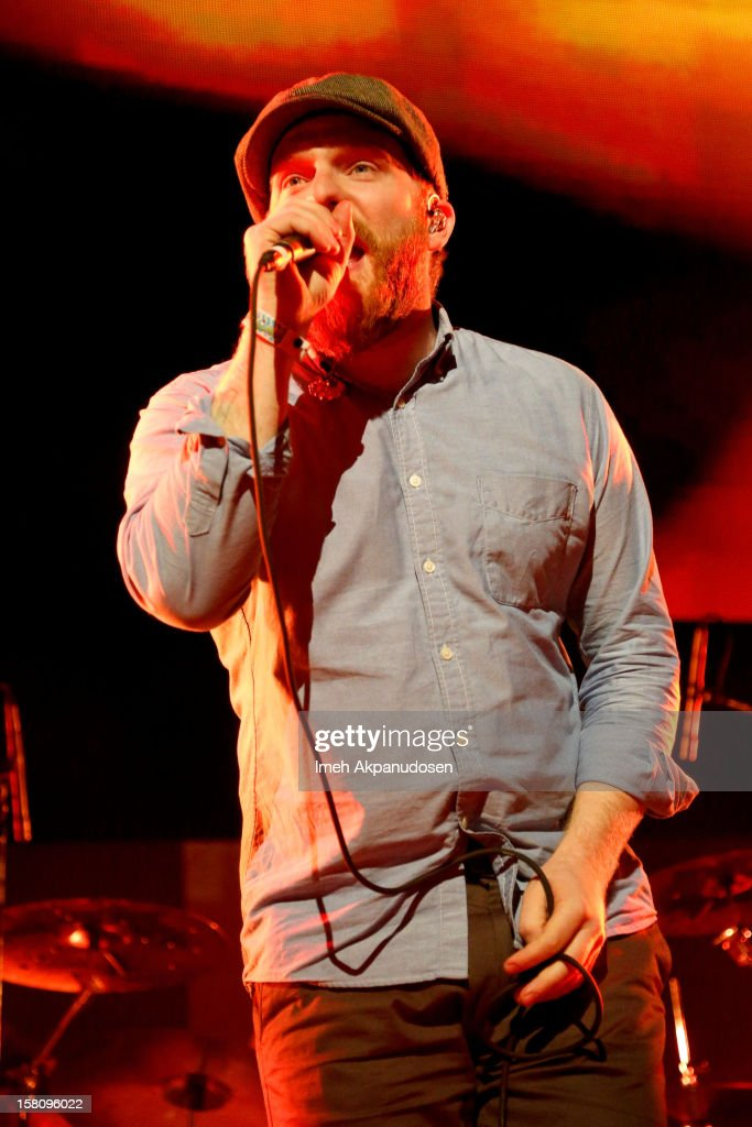 Singer/songwriter Alex Clare performs onstage at the 23rd Annual KROQ Almost Acoustic Christmas at Gibson Amphitheatre on December 9, 2012 in Universal City, California.