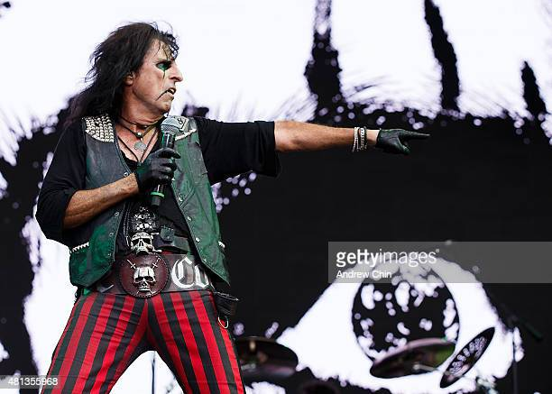 Singersongwriter Alice Cooper performs onstage during the Pemberton Music Festival on July 18 2015 in Pemberton Canada