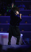 Singersongwriter Alicia Keys performs on the second day of the Democratic National Convention at the Wells Fargo Center July 26 2016 in Philadelphia...