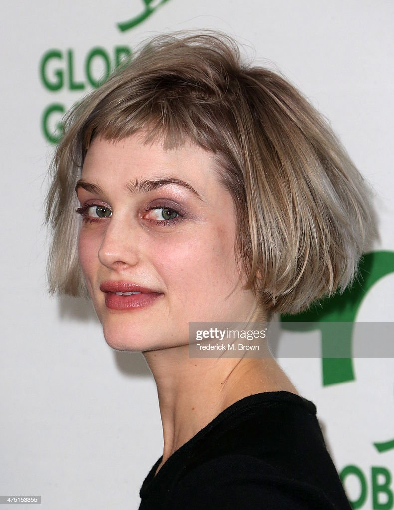 Singer-songwriter <a gi-track='captionPersonalityLinkClicked' href=/galleries/search?phrase=Alison+Sudol&family=editorial&specificpeople=4148546 ng-click='$event.stopPropagation()'>Alison Sudol</a> of A Fine Frenzy attends Global Green USA's 11th Annual Pre-Oscar party at Avalon on February 26, 2014 in Hollywood, California.
