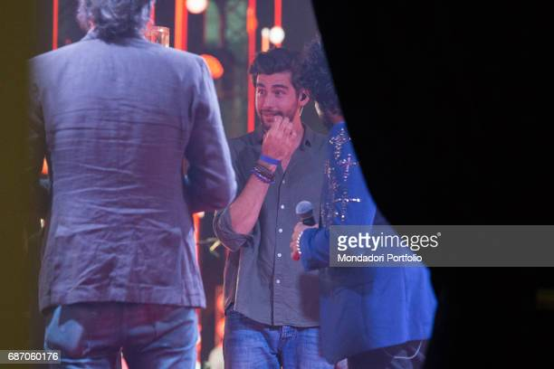 Singersongwriter Alvaro Soler in the backstage during the CocaCola Summer Festival Rome Italy 23rd June 2016
