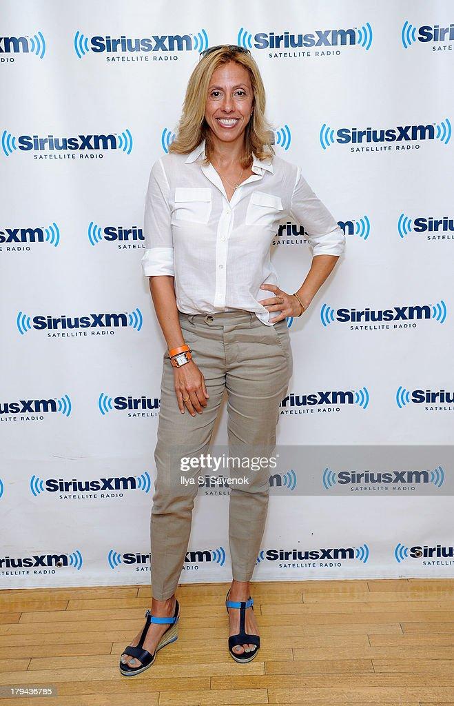 Singer/Songwriter, Amanda Green visits SiriusXM Studios on September 3, 2013 in New York City.