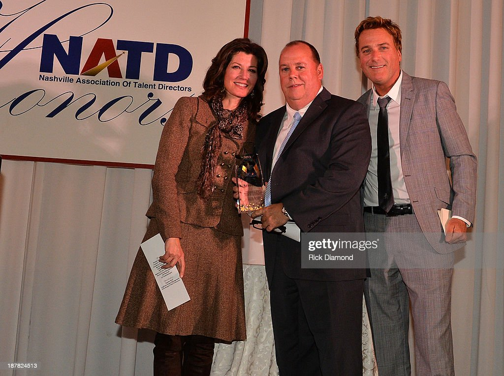 Singer/Songwriter Amy Grant, Honoree Artist Management Chaz Corzine and Singer/Songwriter Michael W. Smith attend the 3rd. annual NATD Honors 2013 at the Hermitage Hotel on November 12, 2013 in Nashville, Tennessee.