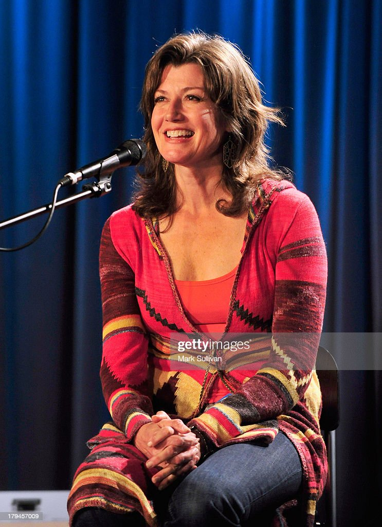 Singer/songwriter Amy Grant onstage during The Drop Amy Grant at The GRAMMY Museum on September 3 2013 in Los Angeles California