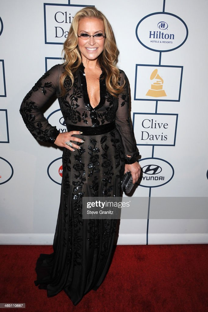 Singer-songwriter Anastacia attends the 56th annual GRAMMY Awards Pre-GRAMMY Gala and Salute to Industry Icons honoring Lucian Grainge at The Beverly Hilton on January 25, 2014 in Los Angeles, California.