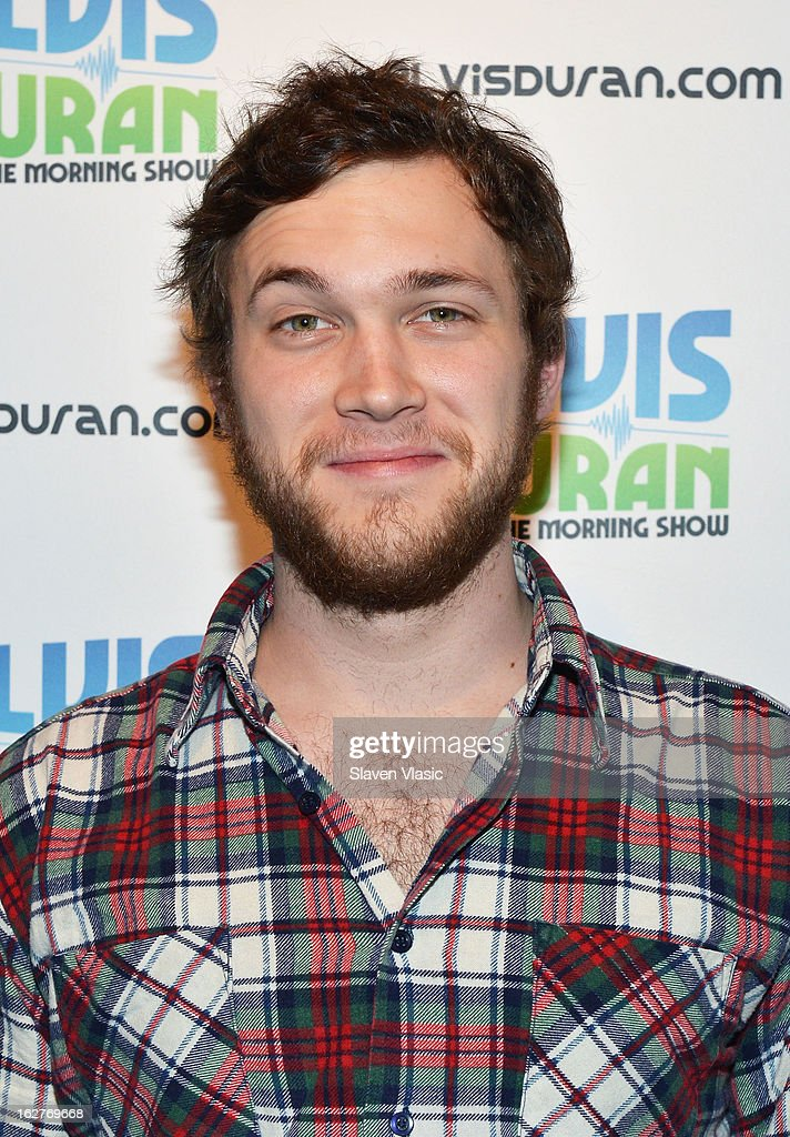 Singer/songwriter and American Idol's 11th season winner Phillip Phillips visits Elvis Duran Z100 Morning Show at Z100 Studio on February 26, 2013 in New York City.