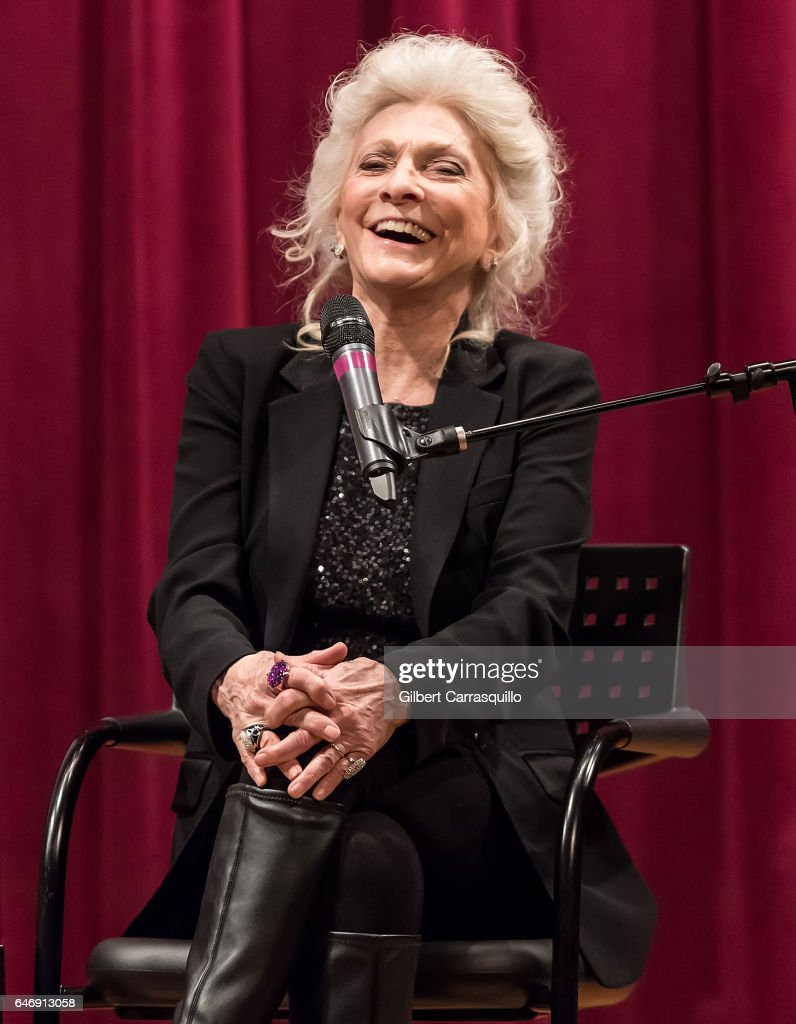 Singer-songwriter and author Judy Collins promotes her new book 'Cravings: How I Conquered Food' during a Q&A at Free Library of Philadelphia on March 1, 2017 in Philadelphia, Pennsylvania.