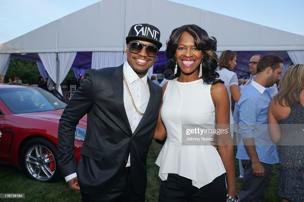 Singer/songwriter and Founder of the Compound Foundation <a gi-track='captionPersonalityLinkClicked' href=/galleries/search?phrase=Ne-Yo&family=editorial&specificpeople=451543 ng-click='$event.stopPropagation()'>Ne-Yo</a> and Compound Foundation President Loraine Smith attend the 2nd annual Compound Foundation Fostering A Legacy Benefit on August 17, 2013 in East Hampton, New York.