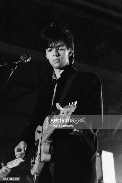 Singersongwriter and guitarist Ian McCulloch performing with Echo the Bunnymen Leeds 9th September 1979
