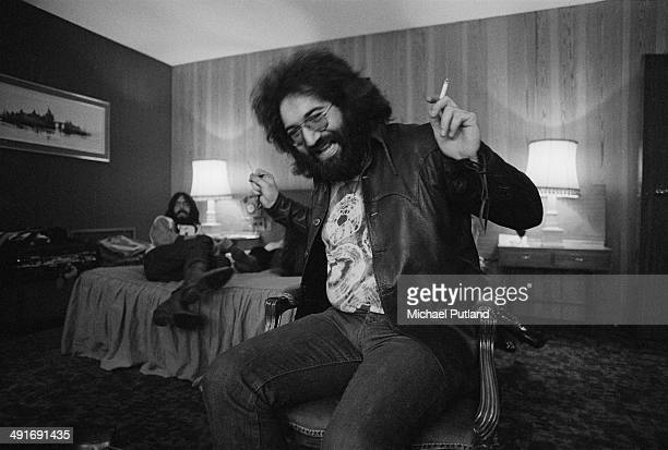 Singersongwriter and guitarist Jerry Garcia of American rock band The Grateful Dead London 4th April 1972