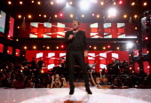 Singer/songwriter and Lifetime Achievement Honoree Lionel Richie performs onstage during the BET AWARDS '14 at Nokia Theatre LA LIVE on June 29 2014...
