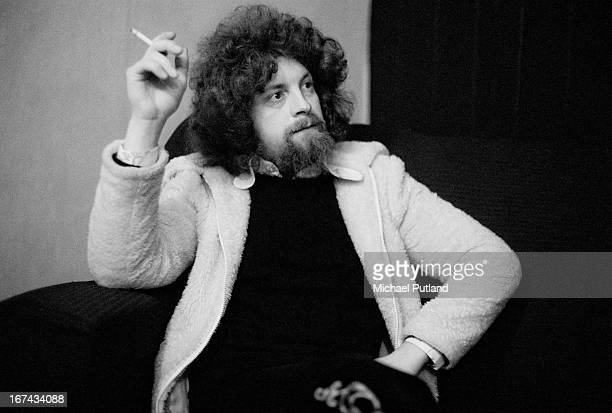 Singersongwriter and musician Jeff Lynne of The Electric Light Orchestra 14th February 1973