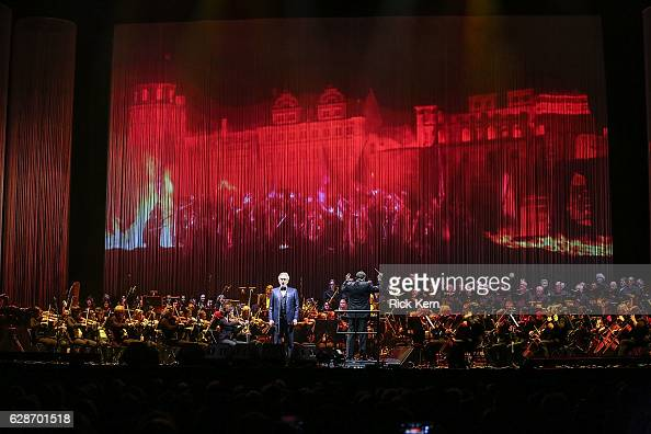 Singersongwriter Andrea Bocelli performs in concert at the Frank Erwin Center on December 8 2016 in Austin Texas