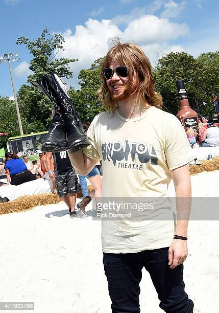 Singer/Songwriter Andrew Leahey and The Homestead hits the beach during The 4th Annual Pepsi's Rock The South Festival Day 2 at Heritage Park in...