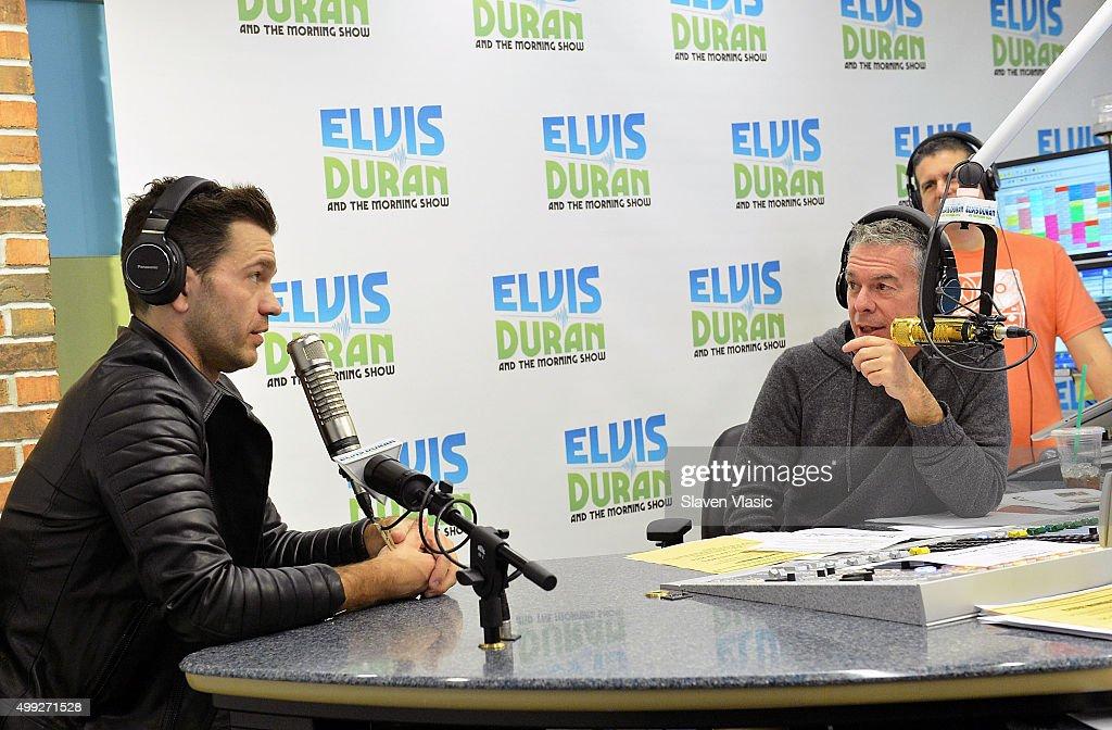 ... Z100 Morning Show' at Z100 Studio on November 30, 2015 in New York