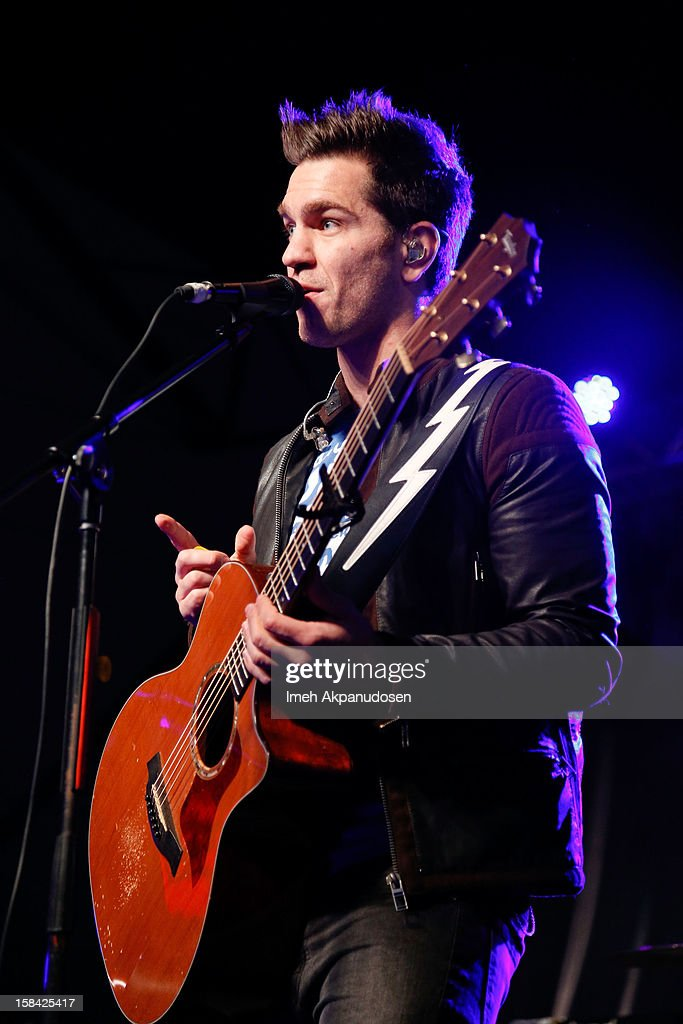 Singer/songwriter Andy Grammer performs onstage at The 3rd Annual Salvation Army Rock The Red Kettle Concert at Nokia Theatre L.A. Live on December 15, 2012 in Los Angeles, California.