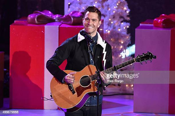 Singersongwriter Andy Grammer performs onstage during the 83rd Rockefeller Center Tree Lighting on December 2 2015 in New York City