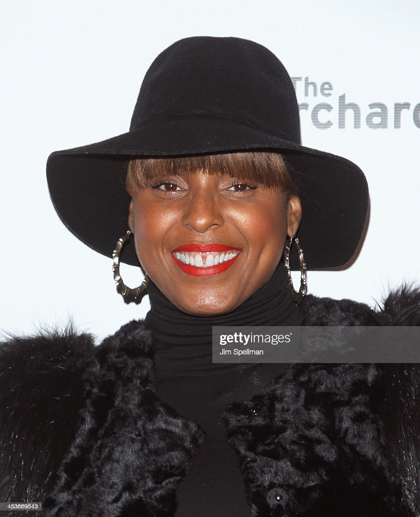 Singer/songwriter Angela Hunte attends the Women In Music presents their 2013 holiday party at Le Poisson Rouge on December 4, 2013 in New York City.