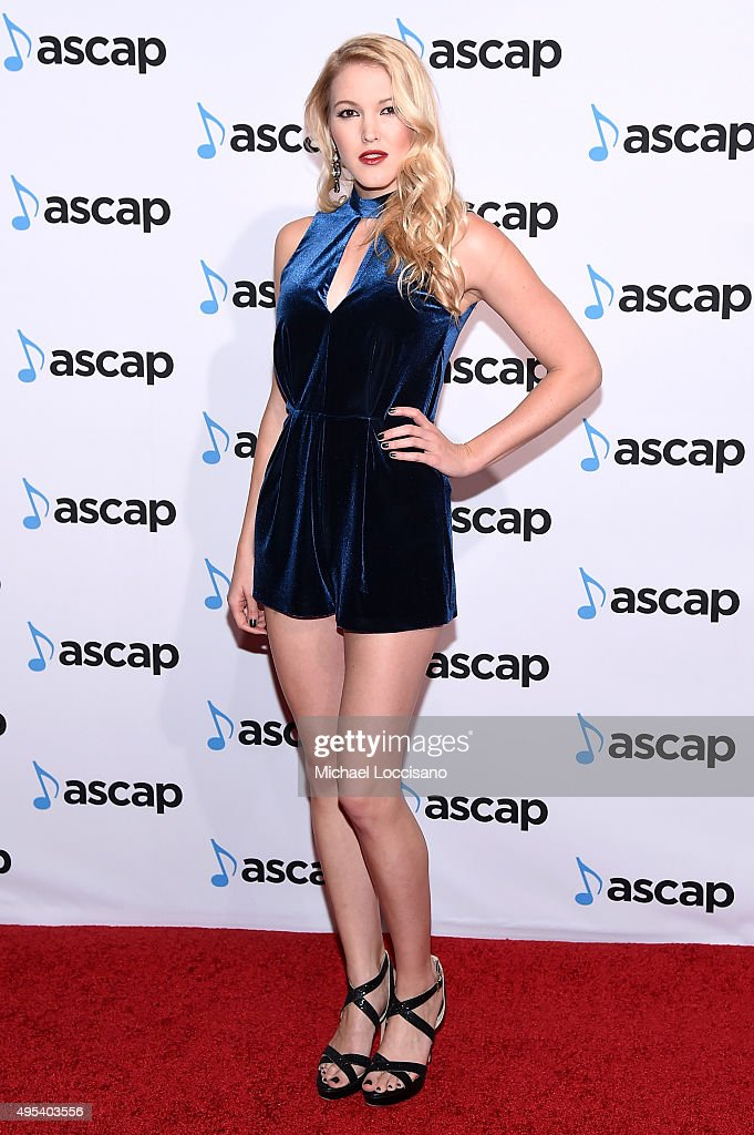 Singer-songwriter <a gi-track='captionPersonalityLinkClicked' href=/galleries/search?phrase=Ashley+Campbell&family=editorial&specificpeople=6934525 ng-click='$event.stopPropagation()'>Ashley Campbell</a> attends the 53rd annual ASCAP Country Music awards at the Omni Hotel on November 2, 2015 in Nashville, Tennessee.