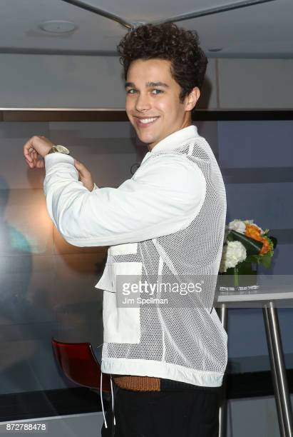 Singer/songwriter Austin Mahone visits Macy's Herald Square at Macy's Herald Square on November 10 2017 in New York City