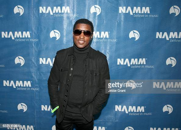 Singersongwriter Babyface attends the 2017 NAMM Show Opening Day at Anaheim Convention Center on January 19 2017 in Anaheim California