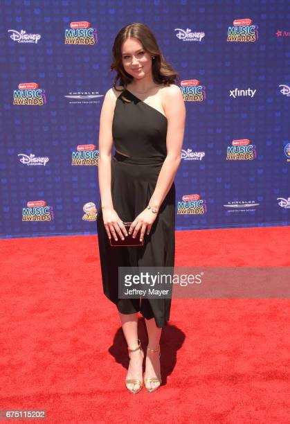 Singersongwriter Bailey Bryan attends the 2017 Radio Disney Music Awards at Microsoft Theater on April 29 2017 in Los Angeles California