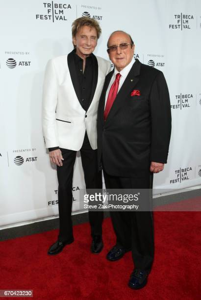 Singer/songwriter Barry Manilow and Clive Davis attend the 'Clive Davis The Soundtrack Of Our Lives' world premiere during the opening night of the...