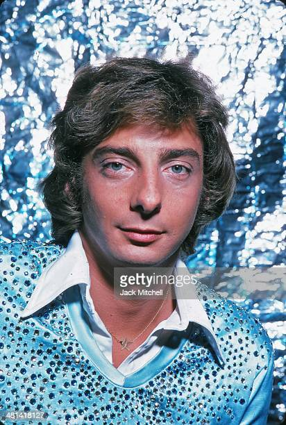 Singer/songwriter Barry Manilow photographed in New York City in 1976