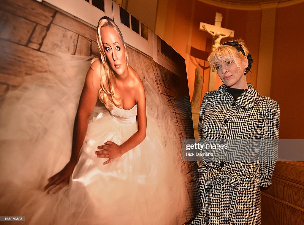Singer/Songwriter Bekka Bramlett attends the memorial service for Mindy McCready at Cathedral of the Incarnation on March 6, 2013 in Nashville, Tennessee. McCready was found dead from an apparent suicide on February 17, 2013 at her home in Heber Springs, Arkansas.
