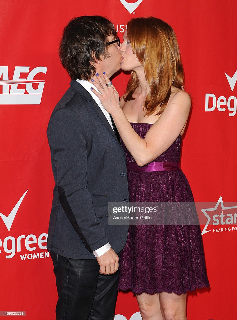 Singer-songwriter Ben Folds and actress Alicia Witt attend the 2014 MusiCares Person Of The Year honoring Carole King at Los Angeles Convention Center on January 24, 2014 in Los Angeles, California.