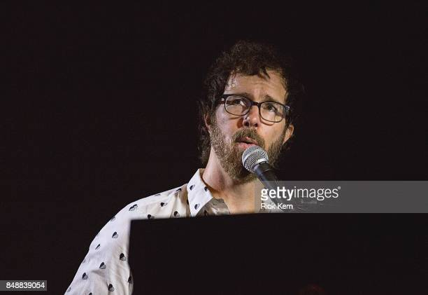 Singersongwriter Ben Folds performs in concert during the 'Paper Airplane Request Tour' at Stubb's BarBQ on September 17 2017 in Austin Texas