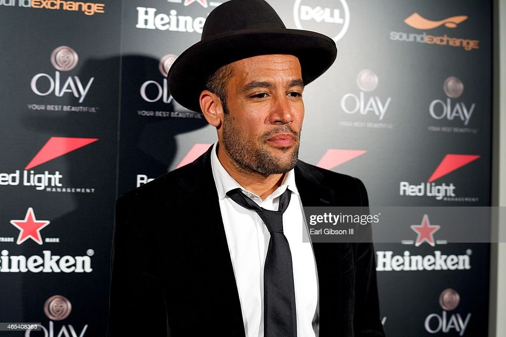 Singer/Songwriter Ben Harper attends The Grammy Awards Red Light Management After Party at Sky Bar, Mondrian Hotel on January 26, 2014 in West Hollywood, California.
