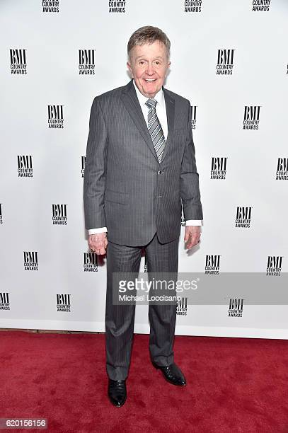 SingerSongwriter Bill Anderson attends the 64th Annual BMI Country awards on November 1 2016 in Nashville Tennessee