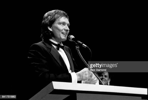 Singer/Songwriter Billy Joe Royal during The Georgia Music Hall of Fame Awards at The Georgia World Congress Center in Atlanta Georgia September 24...