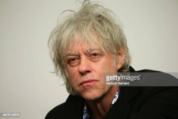 Singer/songwriter Bob Geldof attends the Amnesty International Concert presented by the CBGB Festival at Barclays Center on February 5 2014 in New...