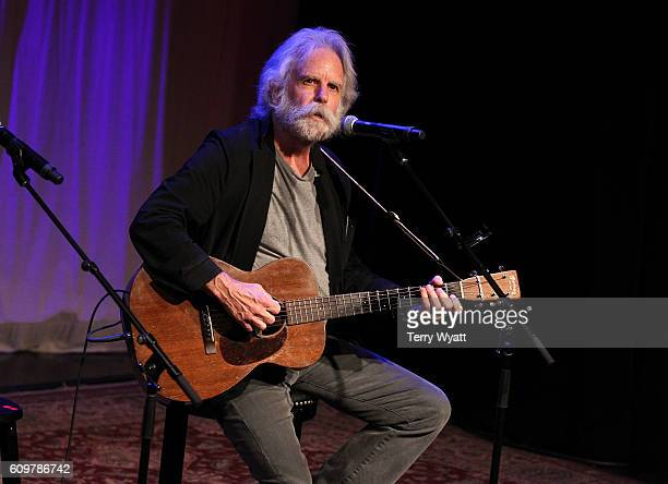 Singersongwriter Bob Weir attends the 17th Annual Americana Music Festival Conference at the Country Music Hall of Fame on September 22 2016 in...