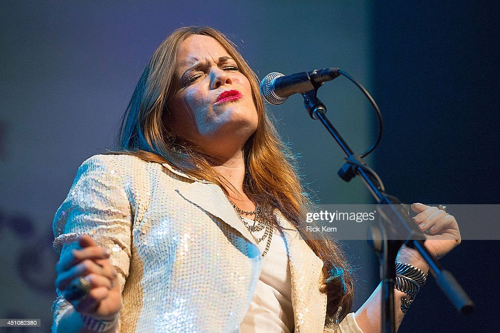 Singer-songwriter Bonnie Bishop performs in concert as part of the 9th Annual Texas Heritage Songwriters' Hall of Fame Awards Show at ACL Live on June 22, 2014 in Austin, Texas.