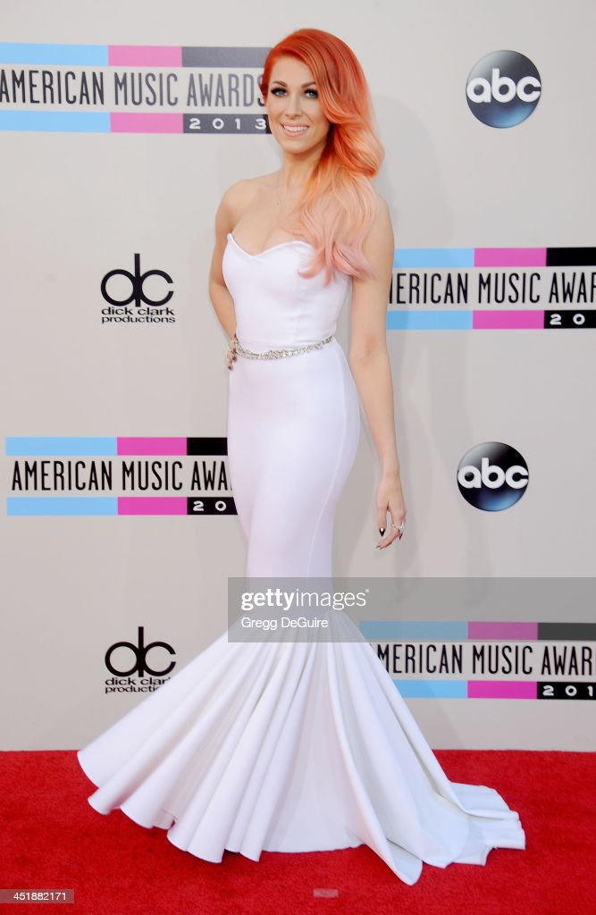 Singer/songwriter Bonnie McKee arrives at the 2013 American Music Awards at Nokia Theatre LA Live on November 24 2013 in Los Angeles California