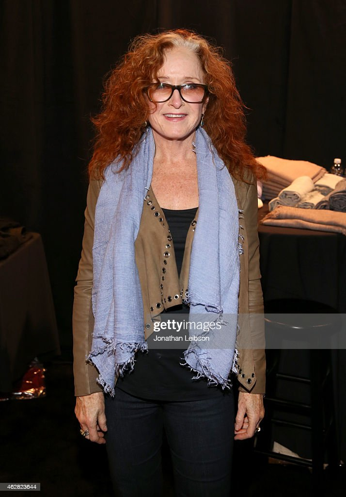 Singer-songwriter Bonnie Raitt attends the MusiCares Double Platinum Talent Gift Lounge with Altec Lansing, RTA Denim, JB Britches and Infinite Love at MusiCares Person of the Year during The 57th Annual GRAMMY Awards at the Los Angeles Convention Center on February 5, 2015 in Los Angeles, California.